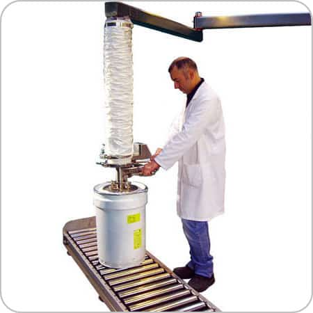 PharmaVac Drum Lifter - Top Lift