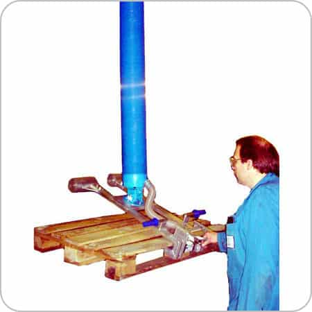 Pallet Lifter Aluminium Light Model
