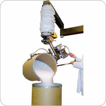 PharmaVac Drum Lift & Pour