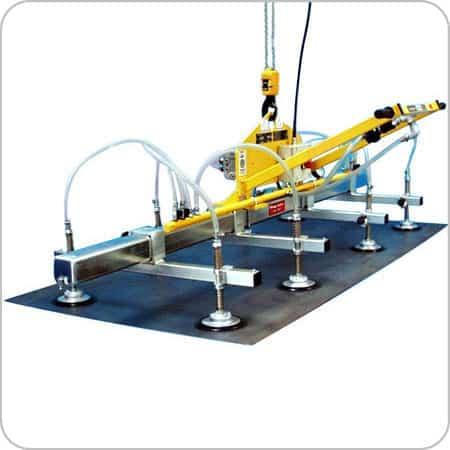 Vacuum Grip 8 Pads 1500kg SWL