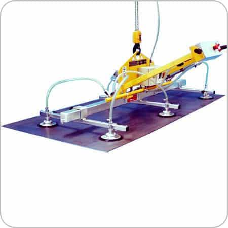 Vacuum Grip 6 Pads 1000kg SWL