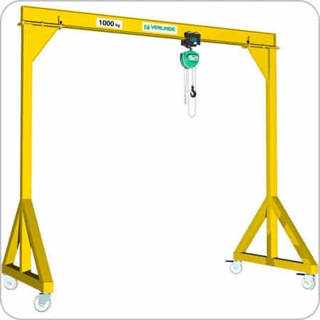 Mobile Gantry Crane Steel