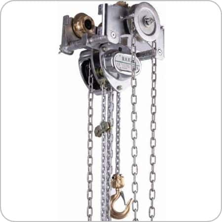 Low Headroom Chain Block & Beam Trolley