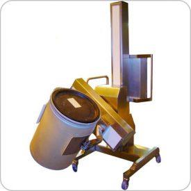 Manual Push, Powered Lift, Grip & Pour