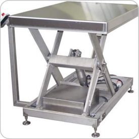 Stainless Steel Scissors Table