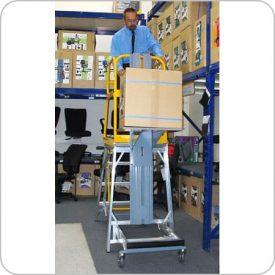 Ladder c/w Platform Lift